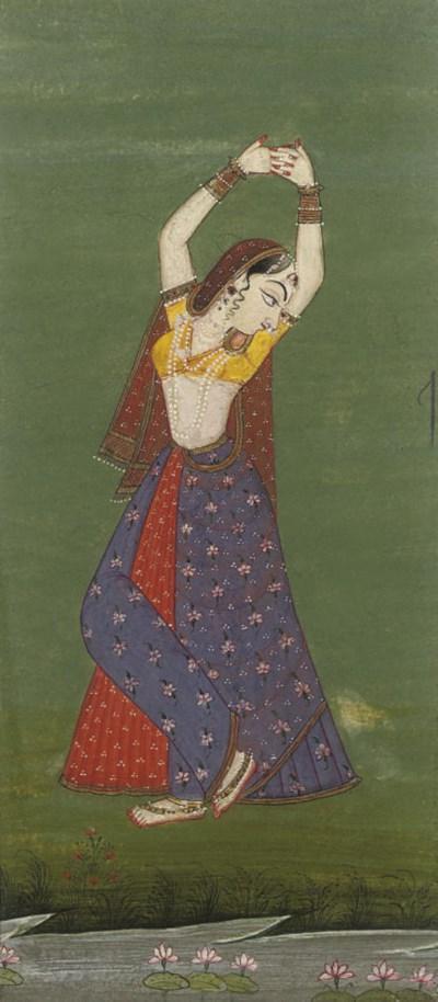 LADY DANCING, BIKANER, RAJASTH