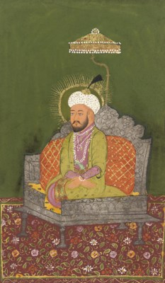 A PORTRAIT OF AURANGZEB (1618-
