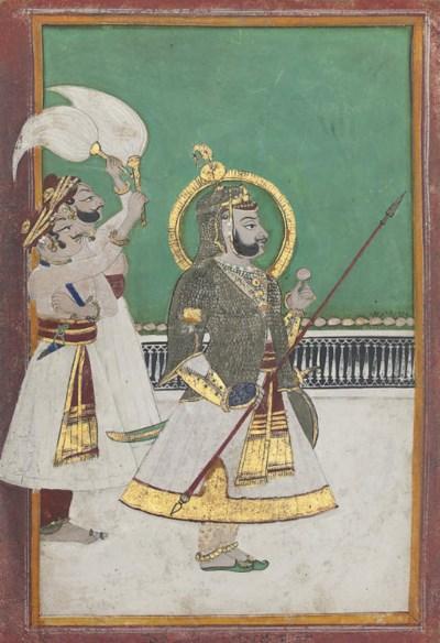 A PORTRAIT OF RAM SINGH II (18