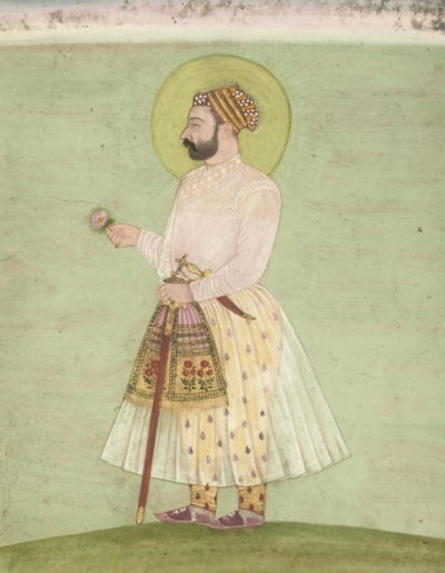 THREE MUGHAL MINIATURES, INDIA