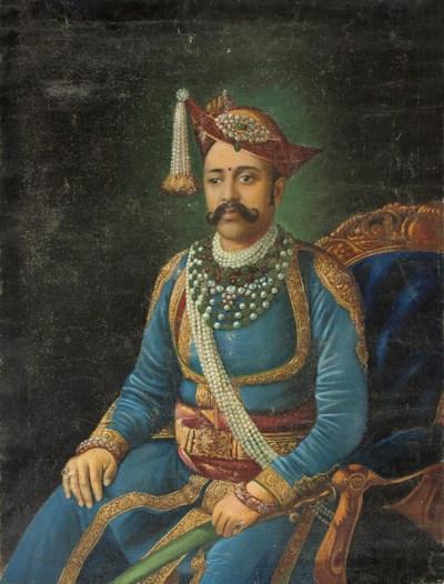 PORTRAIT OF A MAHARAJAH, COMPA