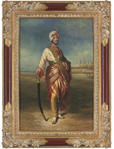 PORTRAIT OF THE MAHARAJAH DULE