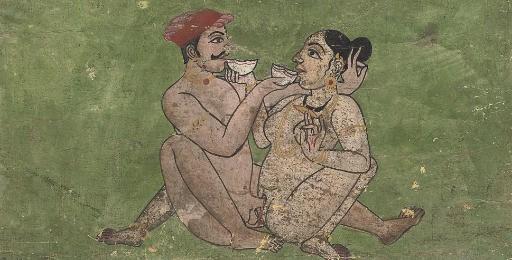 THREE EROTIC SCENES, INDIA, 19