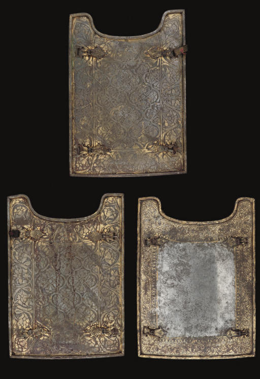 THREE ARMOUR PLATES (CHAR-I AI