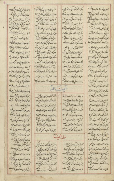 ZAHIR AL-DIN FARYABI: DIWAN AN