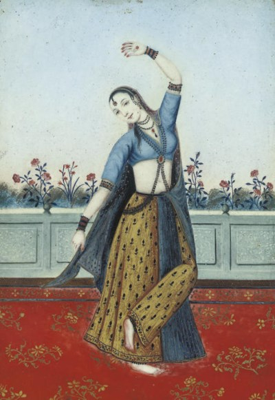 A DANCING GIRL, INDIA, 19TH CE