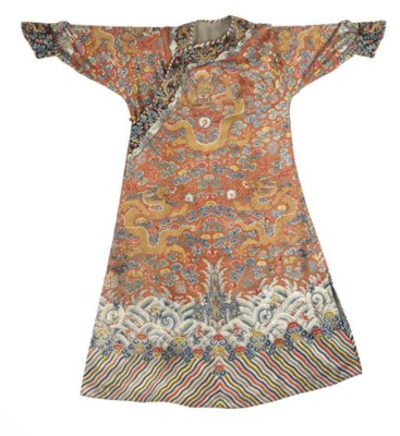 A CHI'FU FORMAL COURT ROBE OF