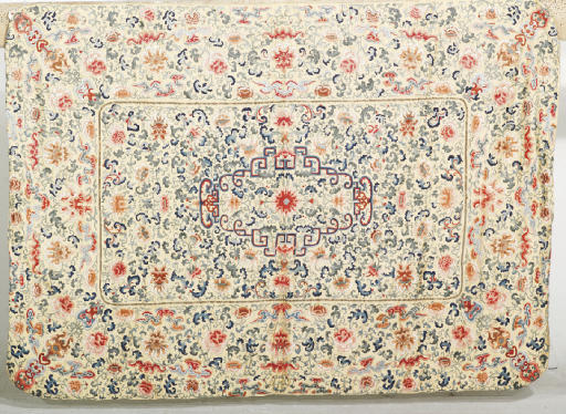 A KANG COVER, 19TH CENTURY