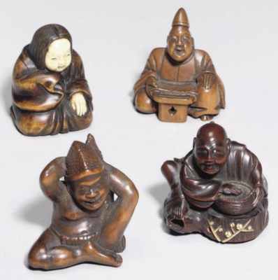 A group of thirteen Japanese w