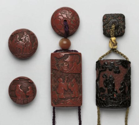 A group of Japanese tsuishu an