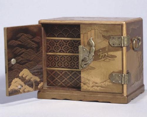 A Japanese gold lacquer kodans