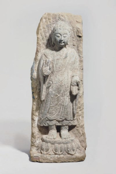 A large Chinese stone sculptur