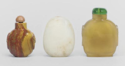 Six Chinese snuff bottles, 19t