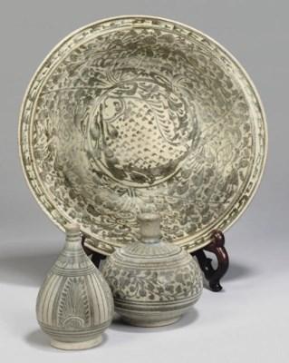 A Sawankhalok iron decorated s