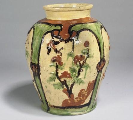 A Vietnamese storage jar, 17th