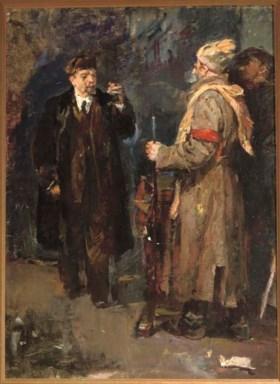 Vyacheslav Grigorevich Chepets? (Russian, b.1946)