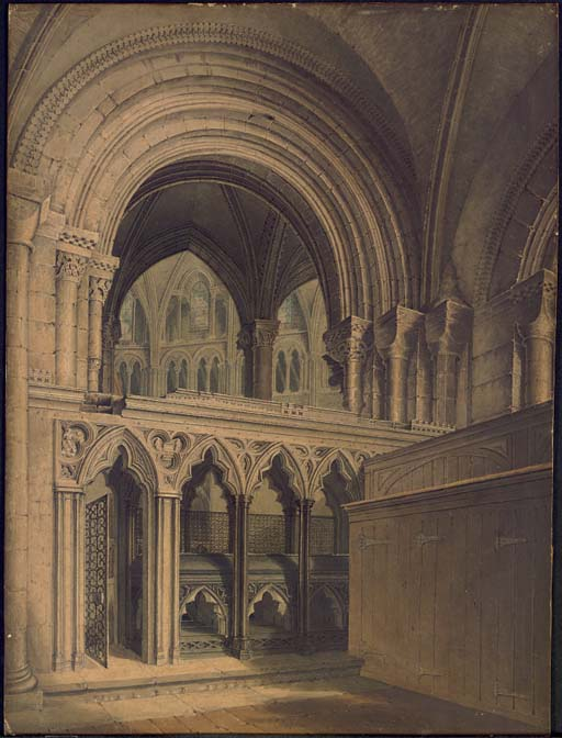 Interior of Gloucester Cathedral