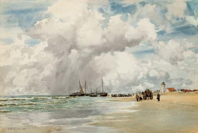 Augustus Walford Weedon, R.I.,