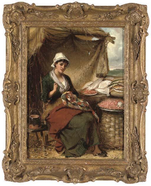 Edward Charles Barnes (BRITISH, 1830-1882) , The