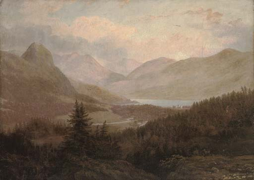 A view towards Inverary Castle