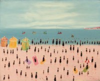 Figures on the beach, Trouville