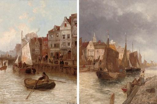 P. Dumont (Dutch, 19th/20th Ce