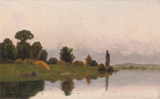 Crossing the lake