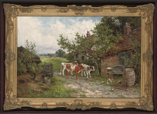 A farmyard discussion