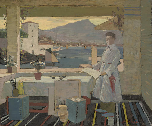Artist's studio, Italy