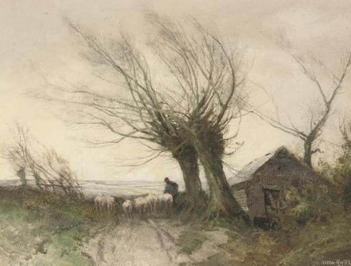 William Tatton Winter, R.I. (1855-1928)