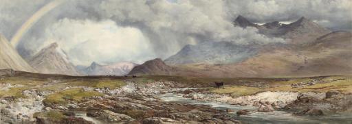 Glen Sligachan, Cuchullin Hill, Isle of Skye