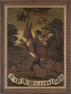 C. Pasteel (French, 18th Centu