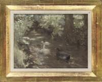 Down the stream, summer