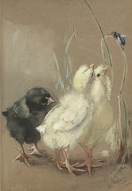 Nellie Harvey (British, fl.187