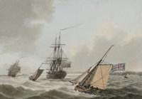 Frigates of the Royal Navy off Torbay, Devon