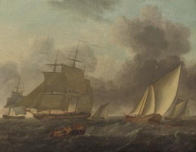 Circle of Thomas Luny (1759-18