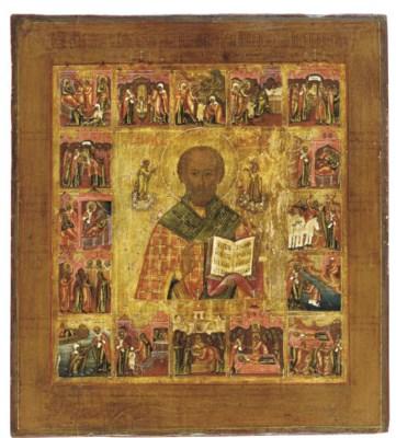 A VITA ICON OF ST. NICHOLAS