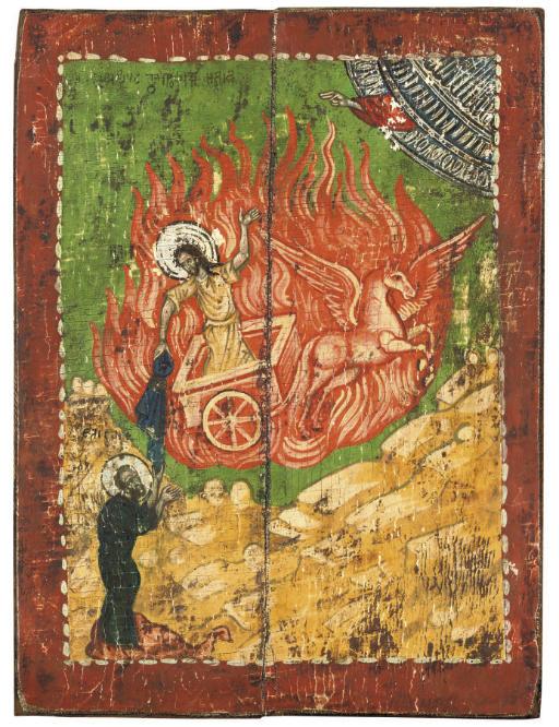 THE ASCENT OF PROPHET ELIJAH