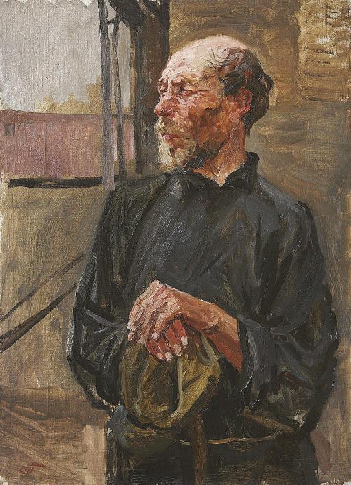 Portrait of Nikolai Volkov