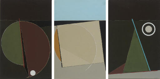 Composition 2 (Triptych May 1991)