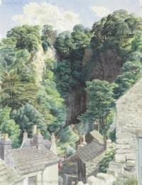 The Entrance to the Peak Cave, Castleton, Derbyshire