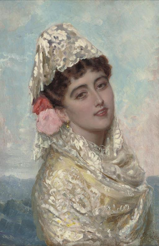 John Bagnold Burgess R A British 1830 1897 A
