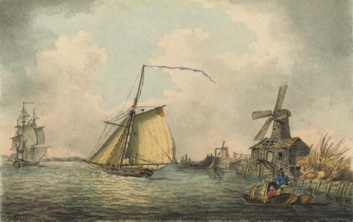 Circle of Samuel Atkins (1765-1808)