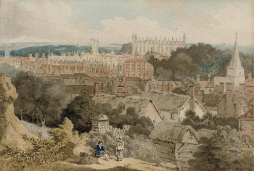 A view of King's College Chapel, Cambridge