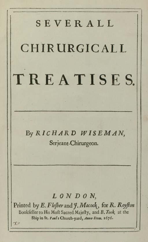 WISEMAN, Richard (1622?-1676).
