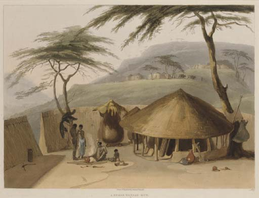 A Boosh-Wannah Hut, (Abbey Travel 321, pl.8)