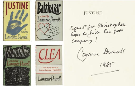 DURRELL, Lawrence (1912-90).