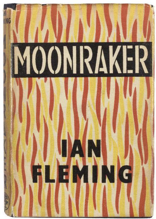 FLEMING, Ian.  Moonraker. Lond
