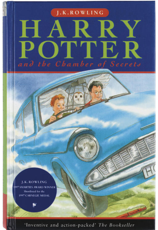 rowling  j  k  harry potter and the chamber of secrets