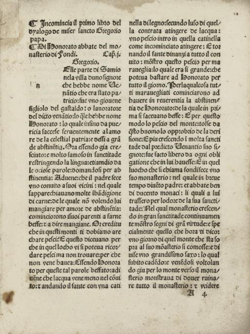GREGORY I, Pope. Dialogorum li